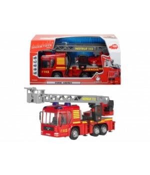 Детская пожарная машина с водой, свет, звук, 43 см, DICKIE TOYS