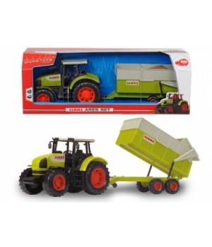 """Игрушка трактор с прицепом """"CLAAS"""", 57 см"""