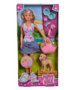 Набор кукла с животными Simba