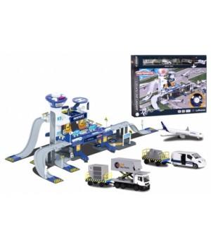 2050018 Ігровий набір Majorette Креатикс. Аеропорт з 5 машинками, 3+
