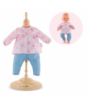 """9000140090 Набір одягу - блуза та штанці Corolle """"Весняні квіти"""", серія 36 см, 2+"""