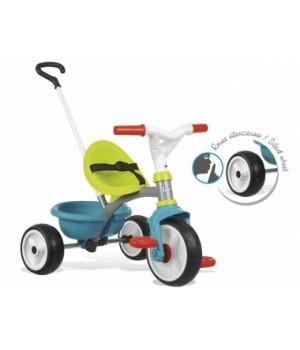 740326 Дитячий металевий велосипед Бі Mуві з багажником , блакитно-зелений, 15міс.+