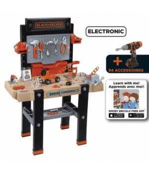 Набор инструментов для мальчика Блек&Деккер. Интерактивная мастерская
