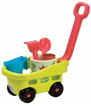 Детская тачка для песка с игровым набором, Ecoiffier