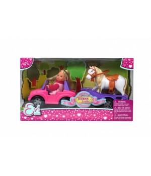 Игрушка кукла с лошадью, Simba
