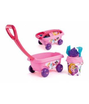Детская тележка для игры с песком и водой Принцесса Дисней, Smoby
