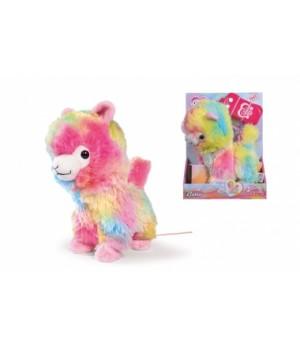 """5893022 М'яка іграшка CCL """"Лама"""" на ДК, що ходить та танцює, 20 см, 5+"""