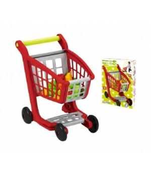 001225 Возик для супермаркету з продуктами харчування, 13 аксес., 18міс.+