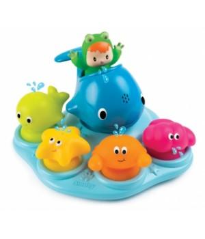 Игрушки для ванной на присосках Веселые животные Cotoons