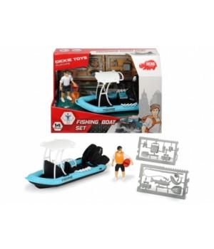 3833004 Ігровий набір Плейлайф. Рибальський човен з човном, фігуркою та аксес., 3+