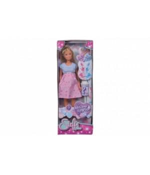 Беременная кукла Штеффи «Сюрприз» с аксессуарами, Simba