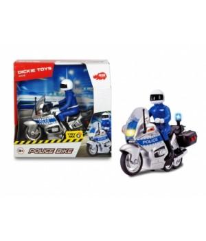 """3712004 Мотоцикл """"Поліцейський патруль"""" з фігуркою, зі звук. та світл. ефектами, довжина 15 см, 3+"""
