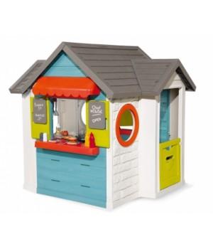 """Детский домик для улицы """"Шеф Хауз"""" с кухней, кассой, и аксес, от 2 лет, Smoby"""