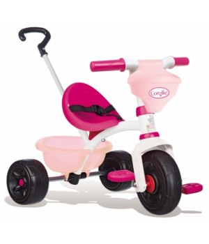 """740329 Дитячий металевий велосипед """"Королле Бі Фан"""" з багажником та сумкою, рожевий, 15 міс.+"""