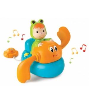 Игрушка для ванной плавающая Краб, со звуком Cotoons