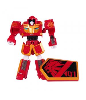 ЛЕ КАН игрушка Геомеха Мини LEO KHAN робот трансформер, YoungToys (оригинал)