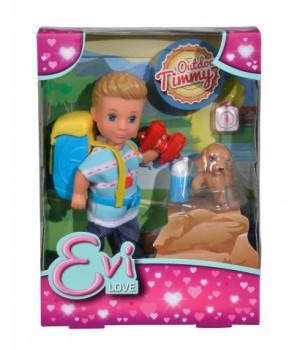 Кукла мальчик Тимми с любимцем, Simba