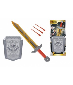 8042241 Ігровий набір зброї Вайлд Найтс з мечем зі звук. та світл. ефектом, 60 см, щитом з функцією стрільби