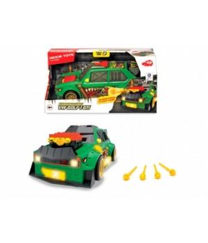 3755003 Швидкісний автомобіль «VW Гольф 1 GTI. Стріляючі зірки», з функцією стрільби, звук., світл. Ефектами