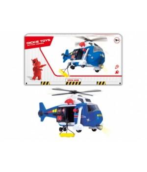"""1137001 Гелікоптер """"Авіація"""" з ношами, зі звук., та світл.,ефектами, 41 см, 3+"""