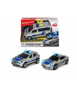 3712014 Автомобіль «SOS.Поліція», зі звук. та світл. ефектами, 15 см, 3 види, 3+