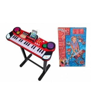 6832609 Музичний інструмент Клавішні-парта з роз'ємом для МР3-плеєра, 31 клавіша, 67 см, 6+