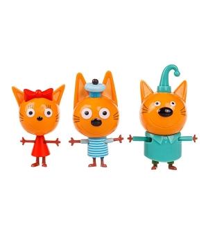 Детские игрушки Три кота: Коржик, Карамелька и Компот
