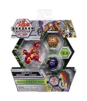 "Bakugan Armored Alliance: Набор из трех бакуганов ""Холкор Пайрус"""