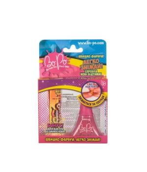 BoPo: Набор детский лак (ярко-розовый) и блеск для губ