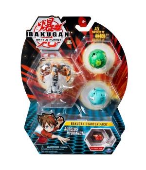 """Bakugan Battle Planet: набор из 3х бакуганов """"Аурелиус Гидраноид"""""""