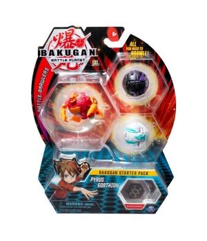 "Bakugan Battle planet: набор из 3х бакуганов ""Пайрус Гортзон"""