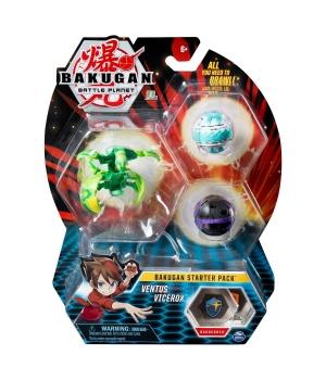 "Bakugan Battle Planet: набор из 3х бакуганов ""Вентус Вайсрокс"""