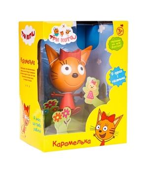 Игрушка Карамелька Три кота, 14,3 см, со звуковыми эффектами