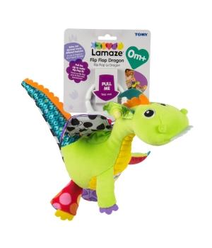 Развивающая игрушка для малышей на коляску, Дракоша