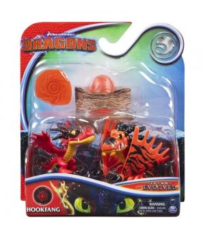 Игрушка Как приручить дракона 3: набор из яйца и двух мини фигурок Кривоклыка