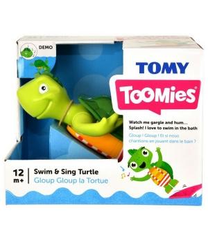 Игрушка для ванной - Поющая черепашка, Tomy