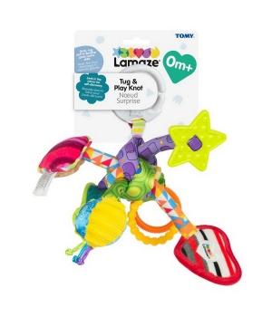 Развивающая подвесная игрушка для коляски, «Узелок»