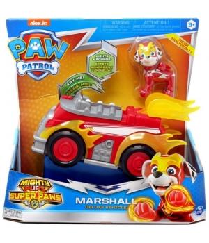 Щенячий патруль: Маршал с автомобилем-делюкс (серия Мегащенки)
