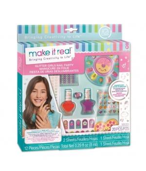 Make it Real: Набор для маникюра для девочки «Яркая вечеринка»
