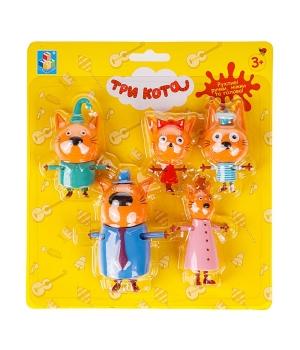 Семья Три Кота игрушки, игровой набор
