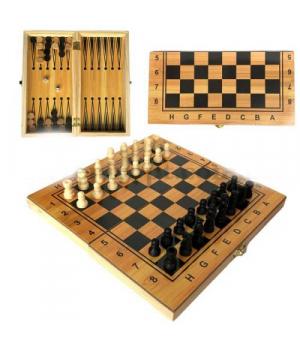 "Набор 3 в 1 ""Шахматы, Шашки, Нарды"" IGR81"