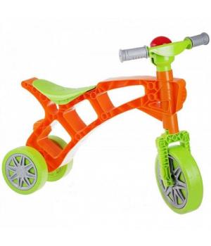 Беговел Ролоцикл 3 ТехноК оранжевый. 3220