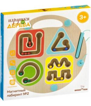 """Магнитная игра лабиринт """"Геометрия"""" Д443"""
