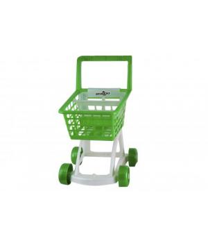 Тележка покупателя зеленый KW-36-009