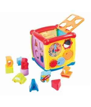 Интерактивная игрушка Куб-сортер, 58162