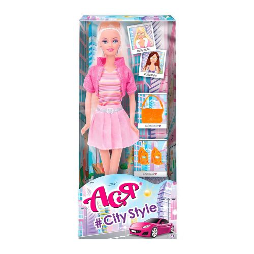 """Игрушечная кукла Ася """"A-Style"""" (с аксессуарами) 35123"""