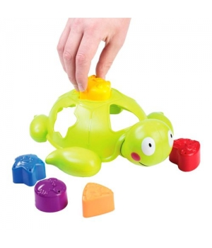 Развивающая игрушка сортер черепашка, 58086