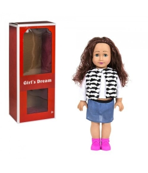 "Детская кукла ""Girl's Dream"", 45 см (в шубке) 8920 Е"