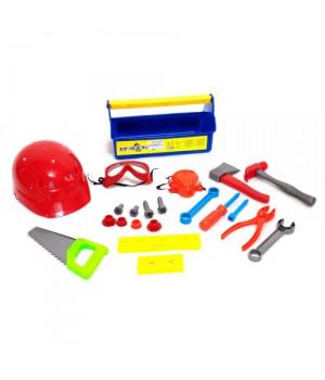 """Набор инструментов для мальчика """"Юный плотник"""" (синий) KW-32-005"""