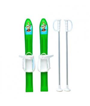 """Лыжи детские """"KIDS SKI"""", 70 см (зеленые) 6098"""